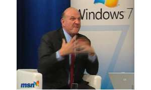 Microsoft-Chef Steve Ballmer im Interview
