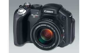 Canon PowerShot S3IS Vorderseite