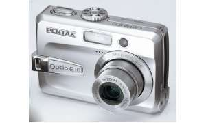 Pentax Optio E10  Vorderseite