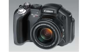 Canon Powershot S3 IS Vorderansicht