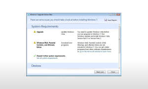 Microsoft Windows 7 Upgrade Advisor