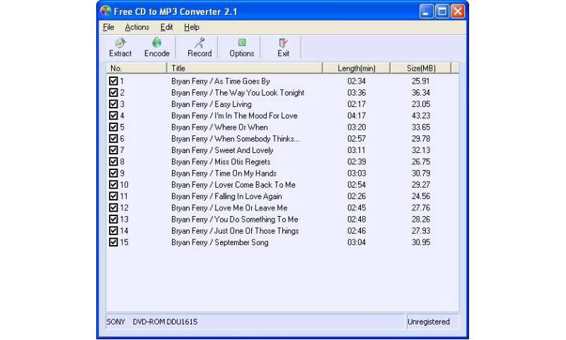 Free CD to MP3 Converter Download - PC Magazin