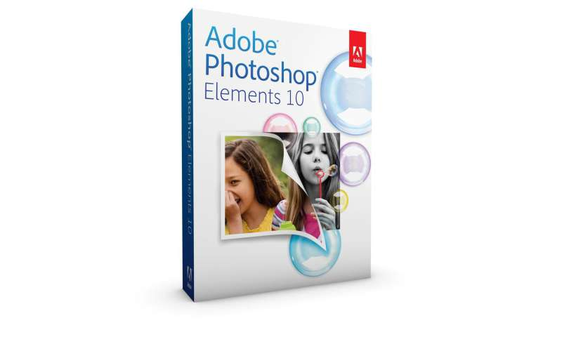 try photoshop elements