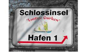 Schild Schlossinsel