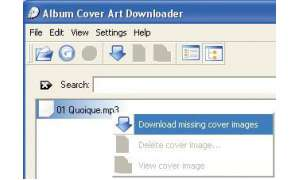 MP3-Freeware: Album Cover Art Downloader