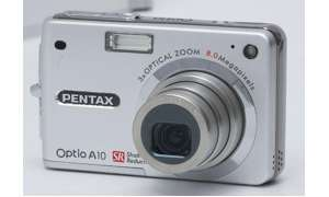 Pentax Optio A10 Vorderansicht