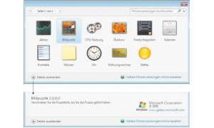 IT Professional Windows, VB Express, HTML, XML: Gadget-Creator