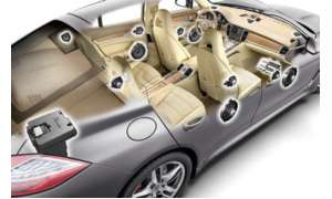 High-End-Audio-System des Panamera