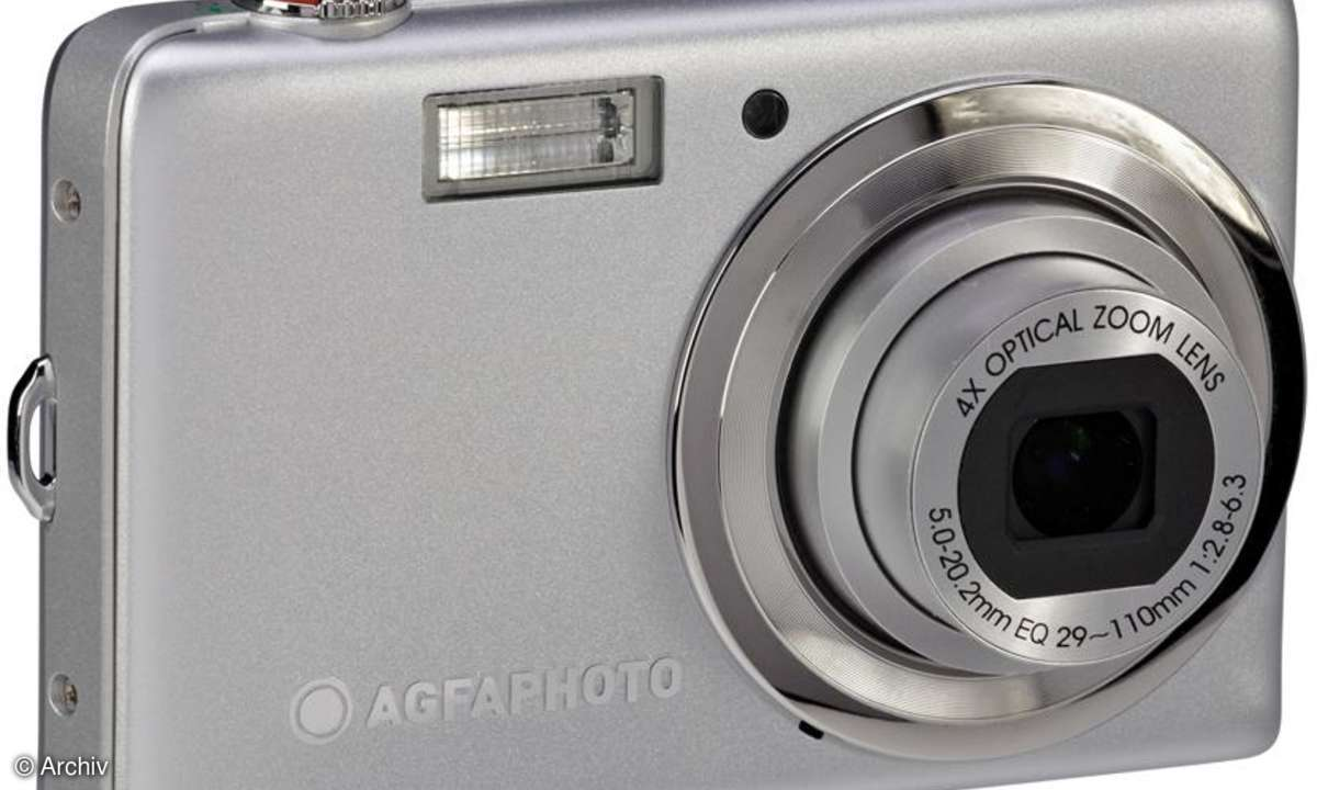 AgfaPhoto Optima 103 Frontansicht