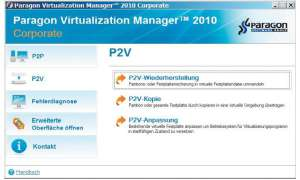 Der Paragon Virtualization Manager 2010
