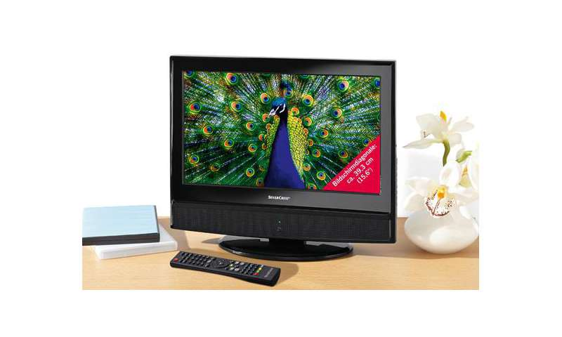 lidl lcd tv mit dvb t tuner und integriertem dvd player. Black Bedroom Furniture Sets. Home Design Ideas