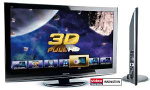 Panasonics 3D-Plasma und -Blu-ray-Player in Bildern