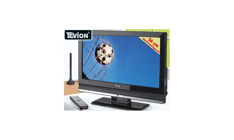 aldi s d neuer lcd fernseher mit dvb t und 56 cm bilddiagonale pc magazin. Black Bedroom Furniture Sets. Home Design Ideas