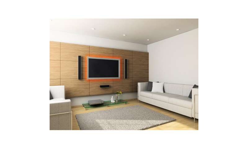 hama tv wandhalterungen mit led hintergrundbeleuchtung pc magazin. Black Bedroom Furniture Sets. Home Design Ideas
