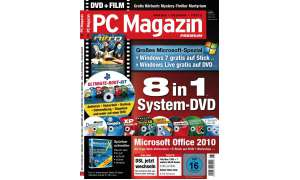 Cover PC Magazin 8/2010