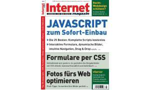Cover Internet Magazin 5/2010