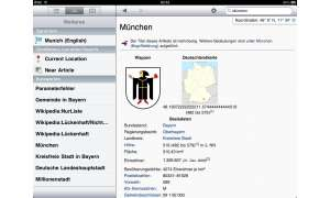 Apple iPad Wikipanion App