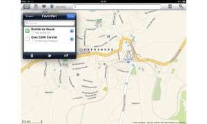 Apple iPad Offmaps App