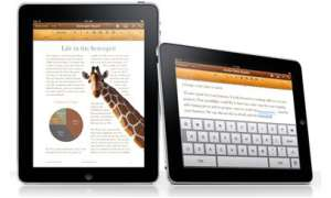 Apple iPad Pages App