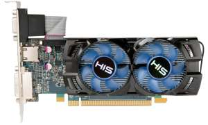 HIS: Grafikkarte Radeon HD 7750 iCooler