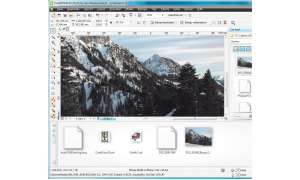 Das Grafik-Paket CorelDraw Graphics Suite X5 in Bildern