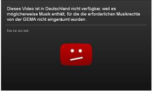 Youtube-Gema-Sperre umgehen