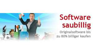 Software 80% billiger