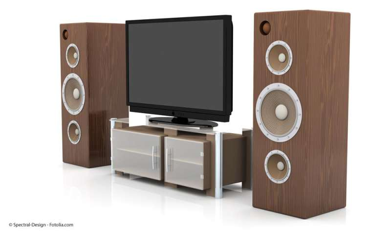 lautsprecher und av receiver im heimkino pc magazin. Black Bedroom Furniture Sets. Home Design Ideas
