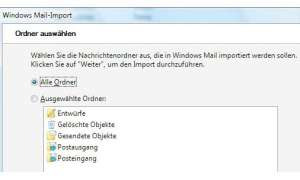 Vista: Windows Mail