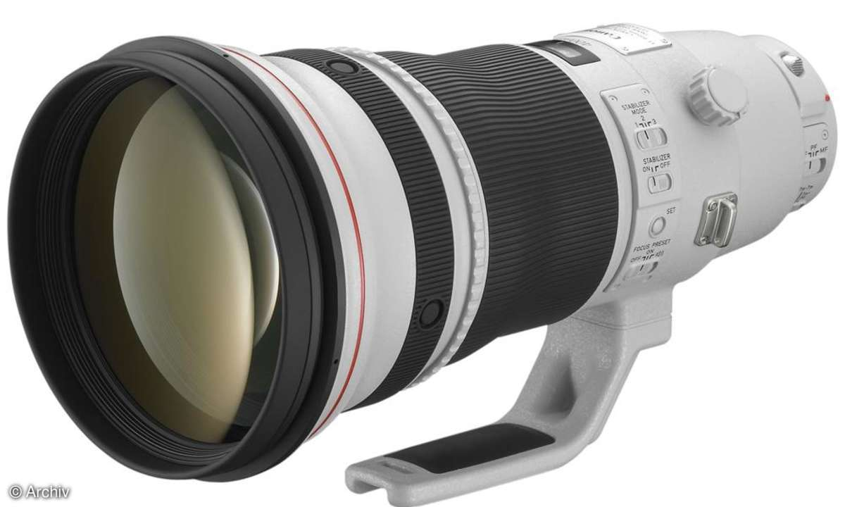 Canon 400 mm f2,8 L IS II USM