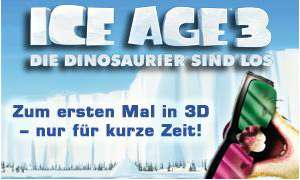 """Ice Age 3"" in 3D"
