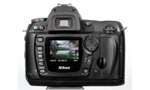 Nikon D70s Rückseite/Display