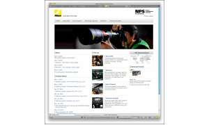 Nikon Professional Service - Neue globale Webseite