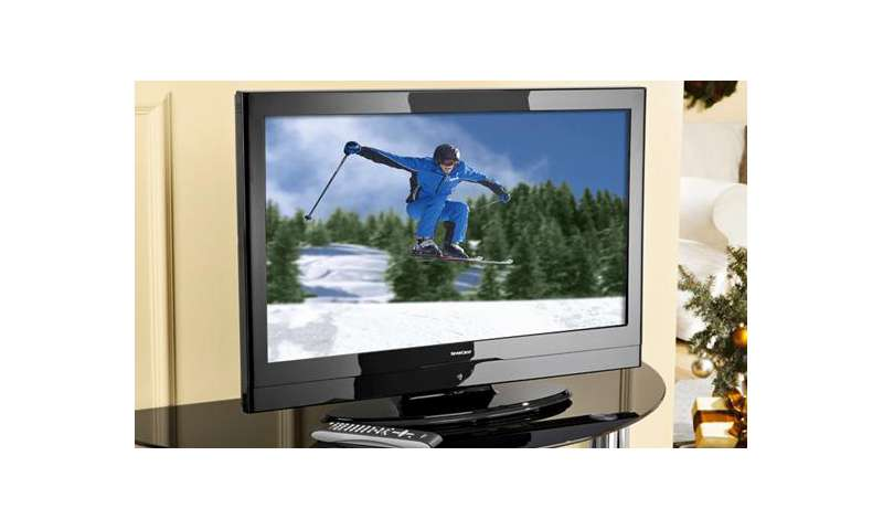 full hd fernseher mit 32 zoll von silvercrest f r unter 400 euro pc magazin. Black Bedroom Furniture Sets. Home Design Ideas