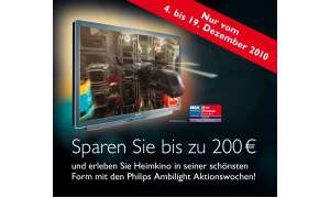 Philips Ambilight-Aktion