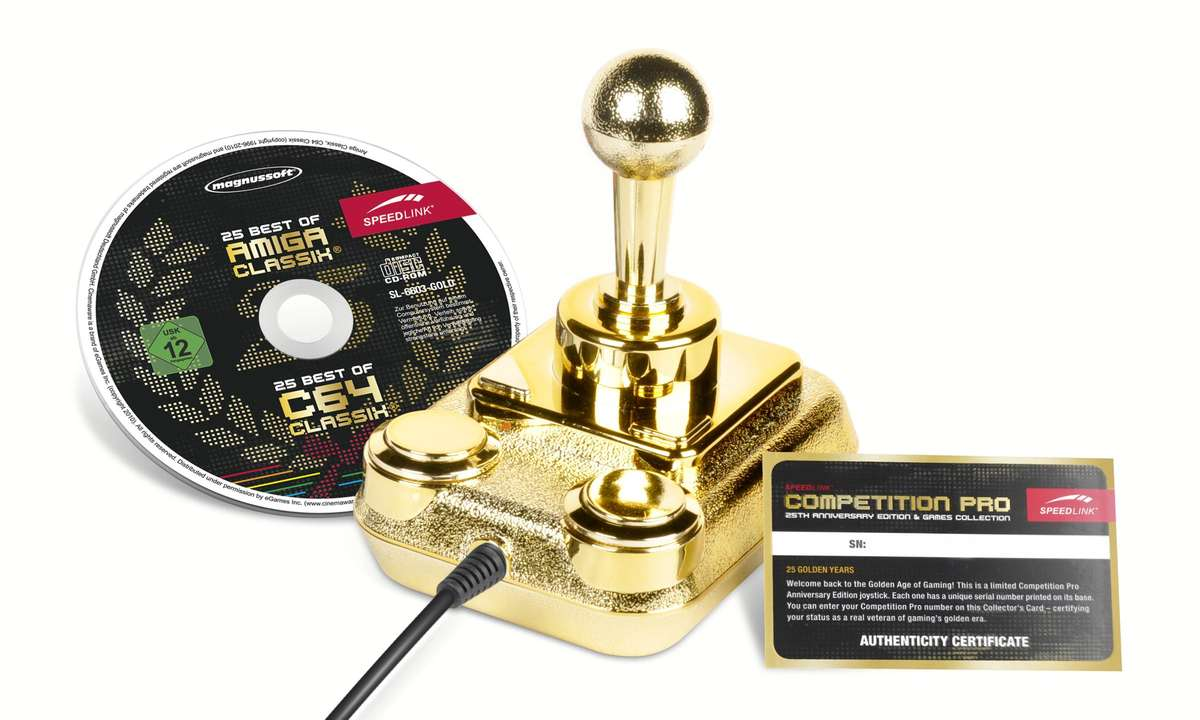 Competition Pro 25th Anniversary Edition