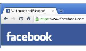 Facebook mit HTTPS-Option