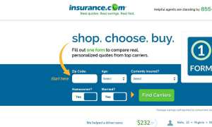 screenshot insurance.com