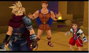 Screenshot: Kingdom Hearts 2