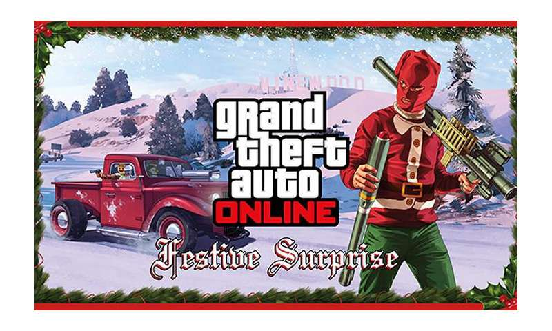 gta 5 online rockstar games pr sentiert weihnachts dlc. Black Bedroom Furniture Sets. Home Design Ideas