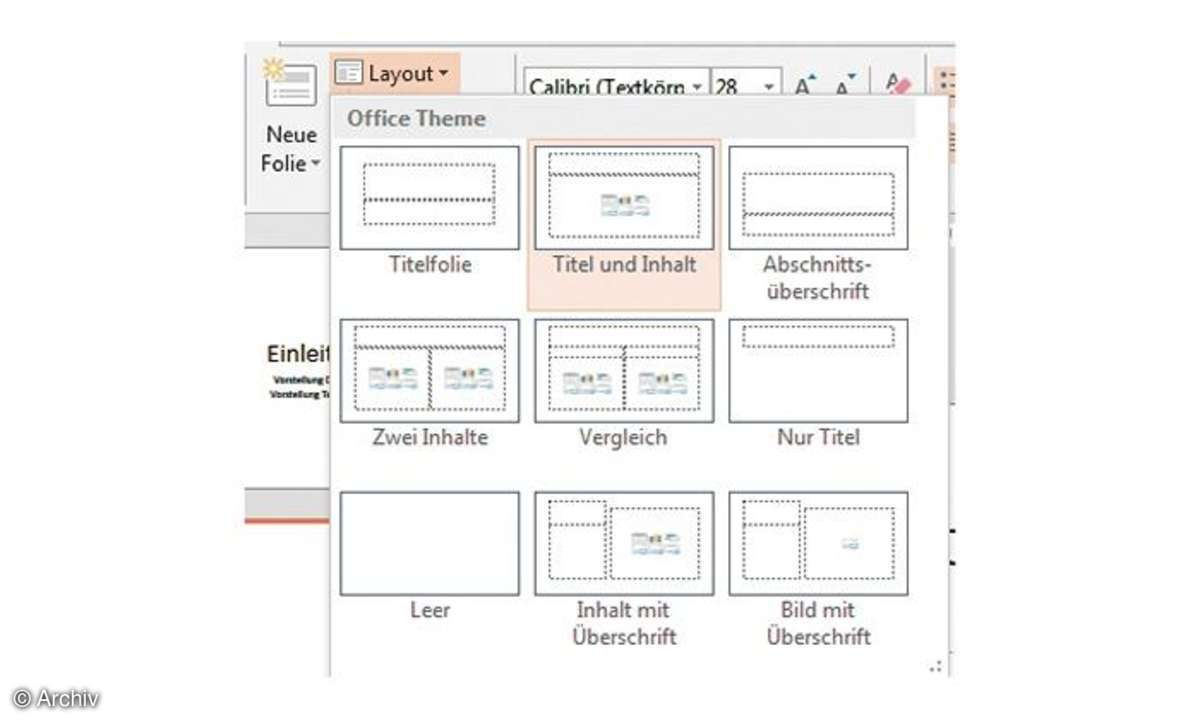 Powerpoint Layout