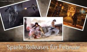 Spiele-Releases im Februar
