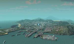 Screenshot: Los Santos in Cities: Skylines