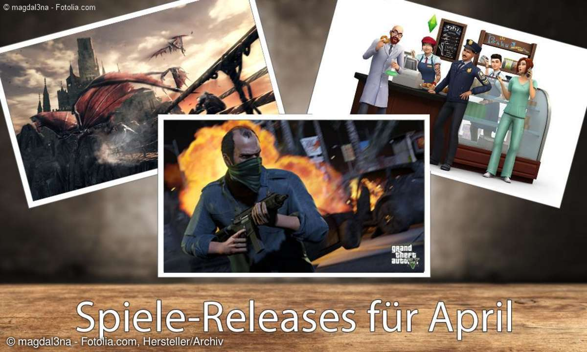 Spiele-Releases im April