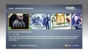 UHD-Stream bei Amazon