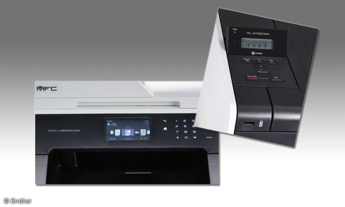 Brother MFC L86 und Brother HL 4150
