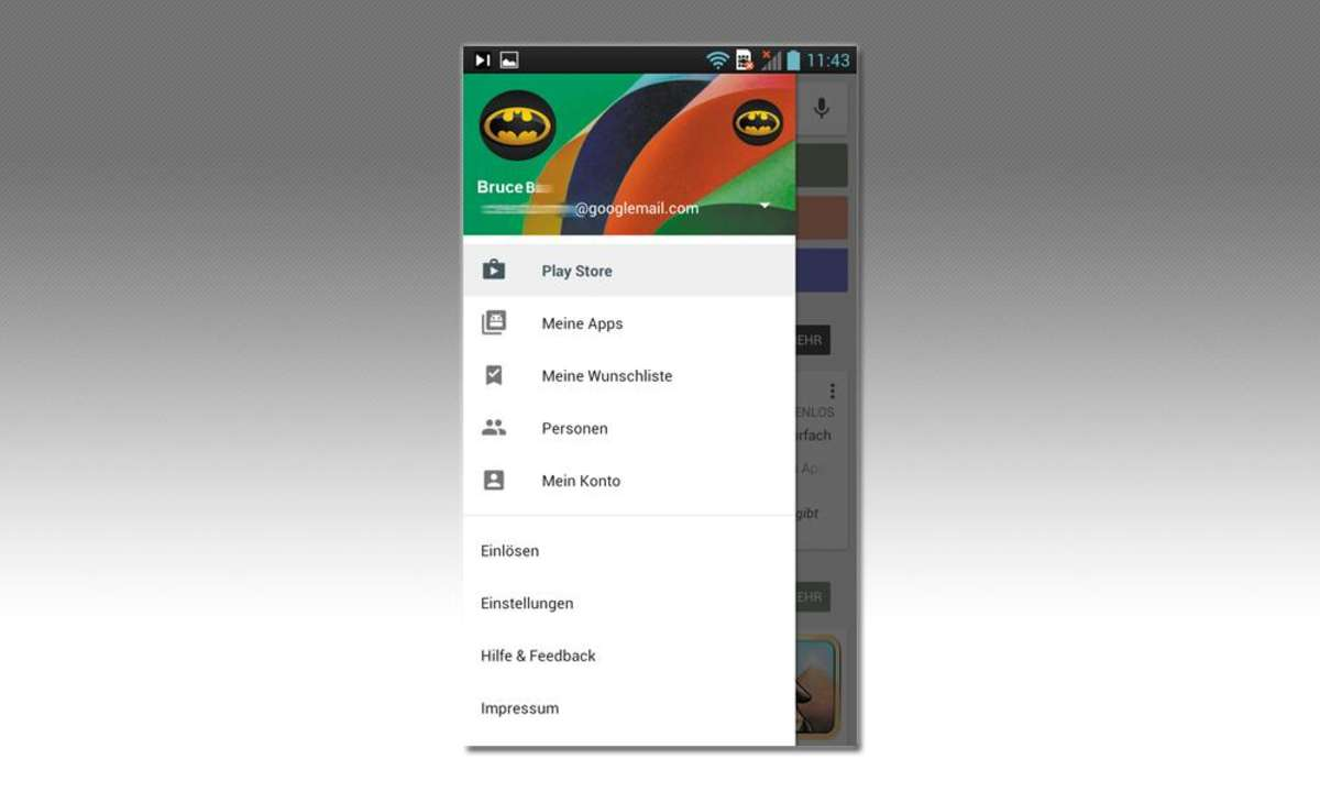 Android-Apps teilen