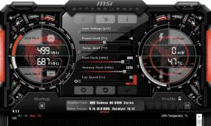 MSI Afterburner