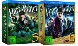 DVD/ Blu-ray: Harry Potter Teil 5 und 6 Ultimate Edition