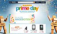 Amazon-Website zum Prime Day